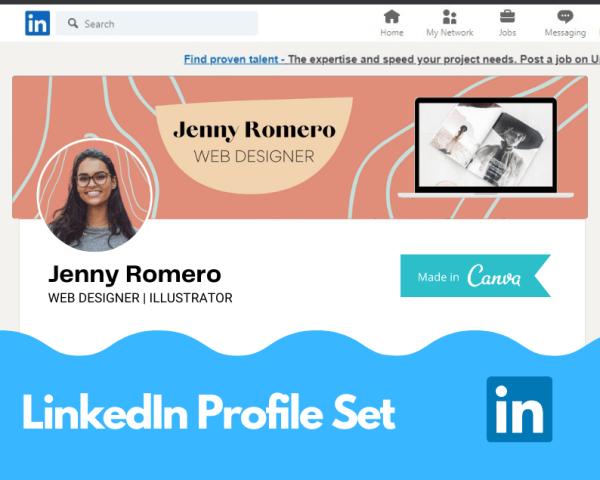 Canva Template LinkedIn