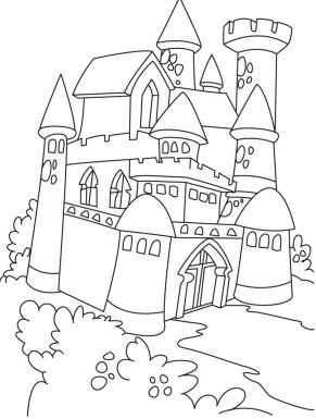 pintar castillo arena