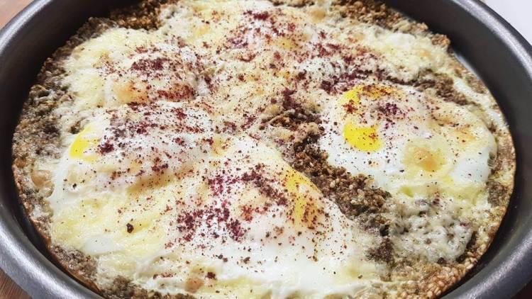 طريقة عمل بيض مخفوق بالريحان بطريقة سالي فؤاد