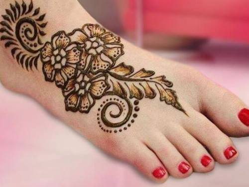 أجمل 10 نقش حناء هندي للعروس صيف 2017