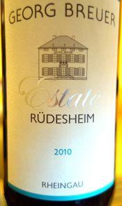 Georg Breuer Rüdesheim Estate 2010