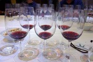 Los vinos servidos en copas