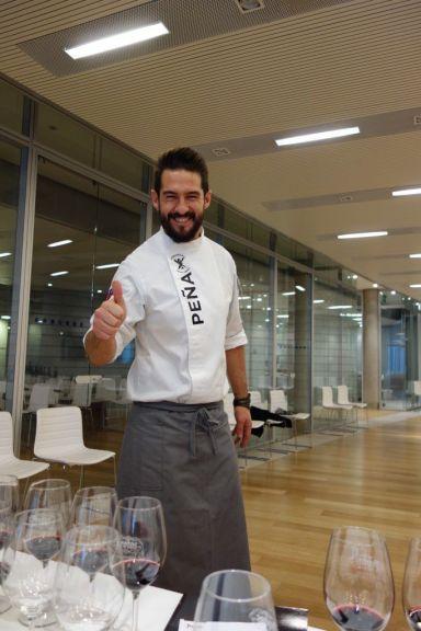 Chef Peña. Protos