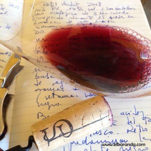 T Pinot noir 2008 en copa