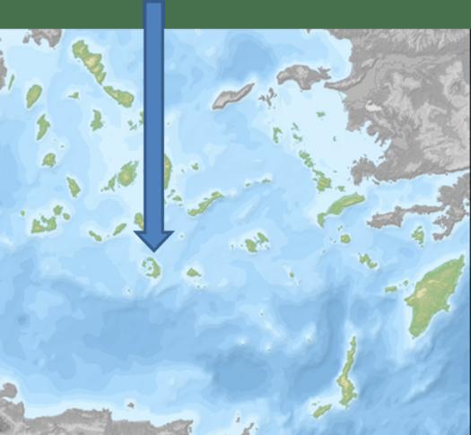 Situcación Santorini