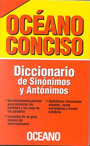 Dicc. Océano Conciso (Sin. y Ant.)