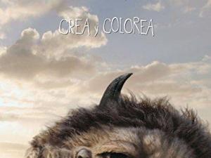 Donde viven los monstruos: juega y colorea