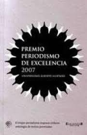 Premio Periodismo de Excelencia 2007