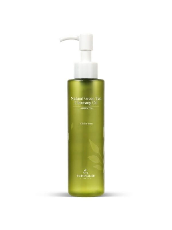the skin house green tea cleansing oil