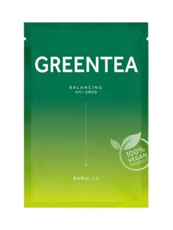 barulab the clean vegan mask green tea