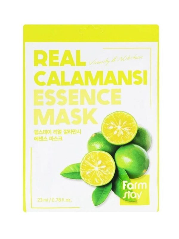 real calamansi sheet mask farmstay (2)