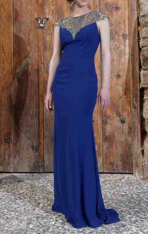 Özel Tasarım Balık Kesim Kiralık Nişan Elbisesi