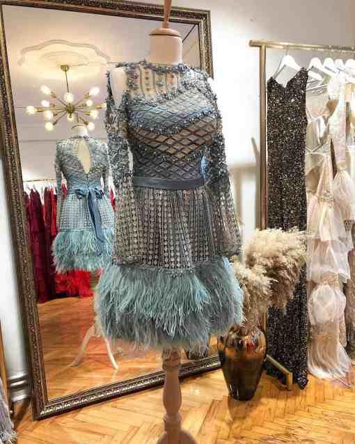 Özel Tasarım Kiralık Mini Elbise