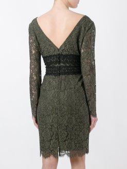 Diane Von Furstenberg Yeşil Kiralık Elbise Arka