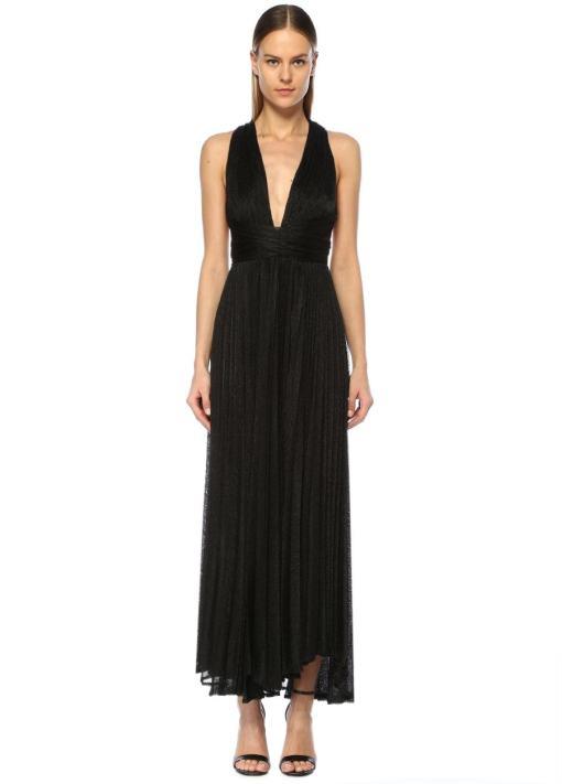 Maria Lucia Hohan Siyah Elbise Kiralık
