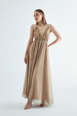 EK Nights Gold Elbise