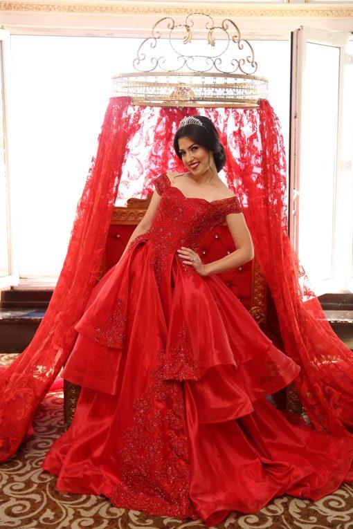 Kırmızı Kına Elbisesi Modelleri