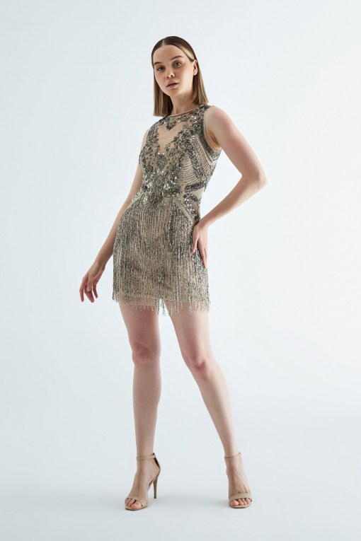 Aidan Mattox Mini Elbise