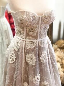 Özgül Engin Beyaz Kiralık Nikah Elbisesi