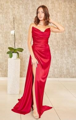 Alfabeta Kırmızı Gece Elbisesi Kiralık