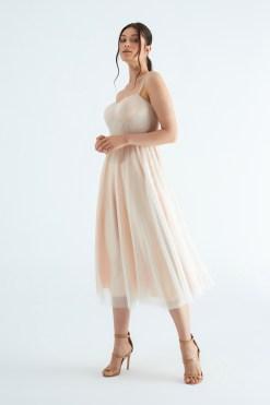 EK Nights Pudra Nişan Elbisesi