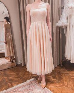 Pudra Kiralık Nişan Elbisesi