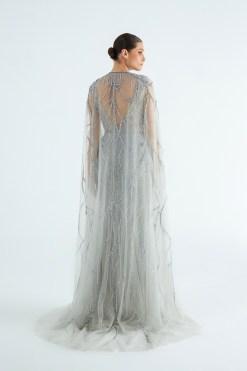 Özel Tasarım Pelerinli Elbise