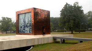 Mausoleo a los Mártires de Artemisa que cayeron en el asalto al Cuartel Moncada en Santiago de Cuba