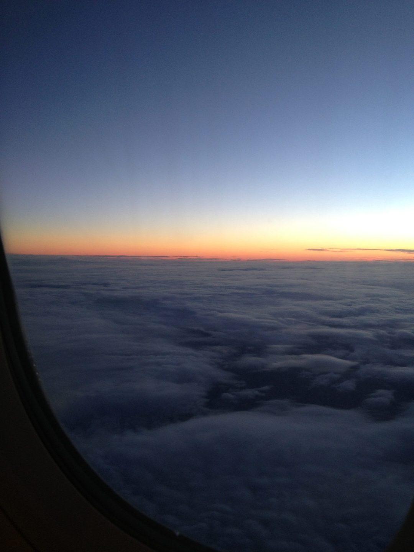 Amanece en vuelo