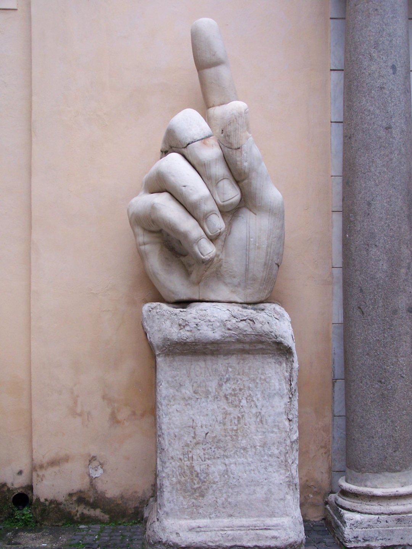 Detalle escultura - Roma