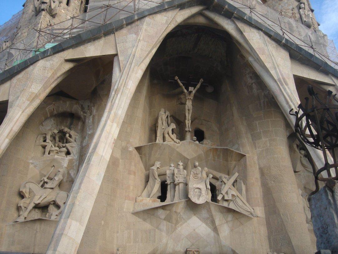 Detalle Sagrada Familia - Gaudi