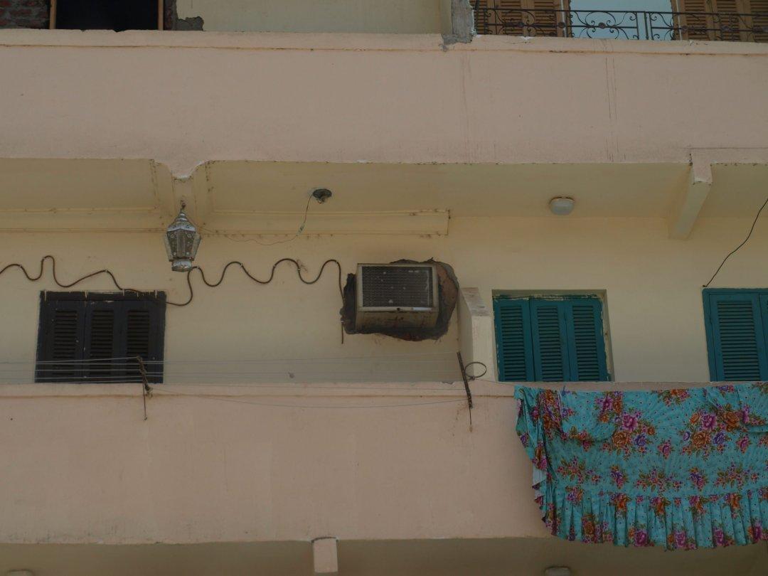 Gran instalación de AC - El Cairo