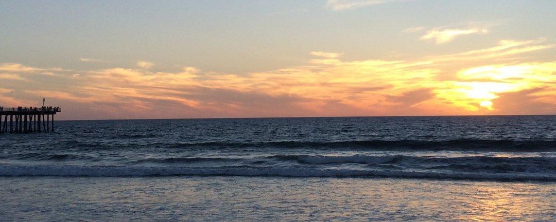 Atardecer Hermosa Beach