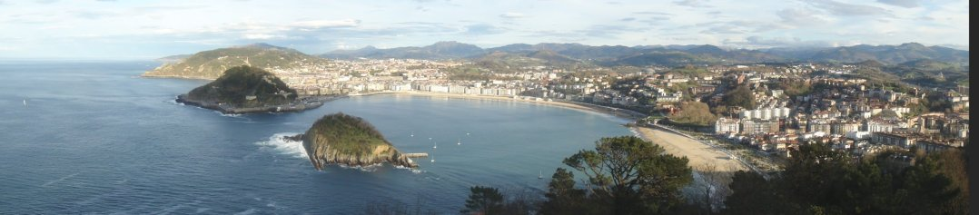 Panorámica San Sebastián