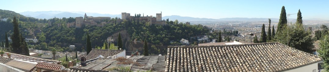 Mirando Granada