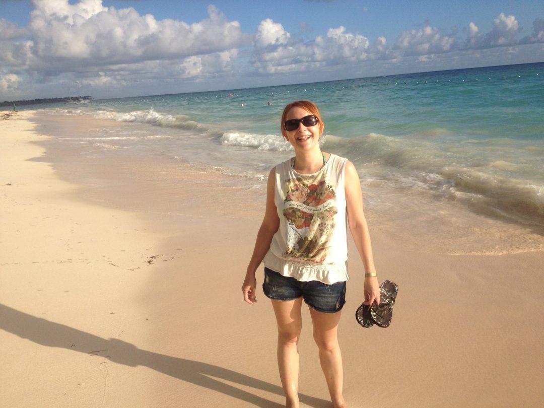 Playeando en Punta Cana