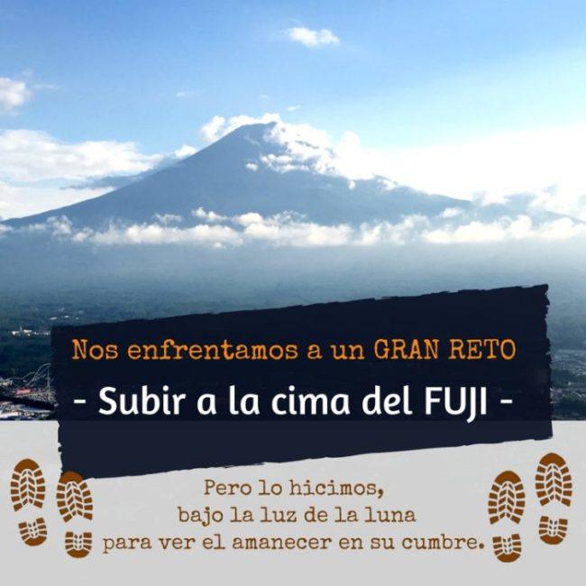 Desde la cima del Monte Fuji -富士山-