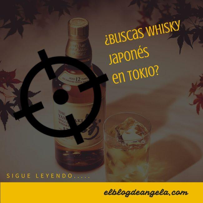 Comprar whisky japonés en Tokio