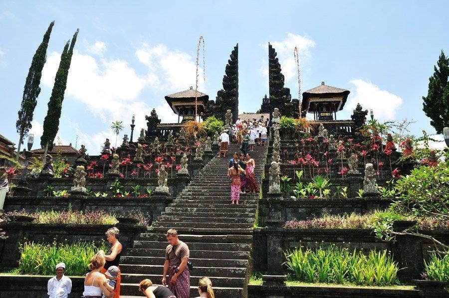Templo Madre de Besakih en Bali