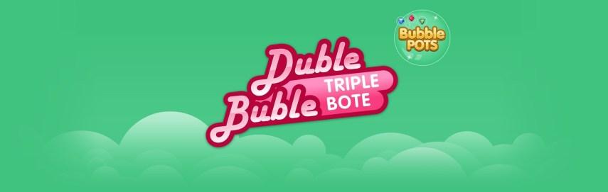 Duble Buble Triple Bote comparte sus Botes Progresivos con otros Juegos de Slots