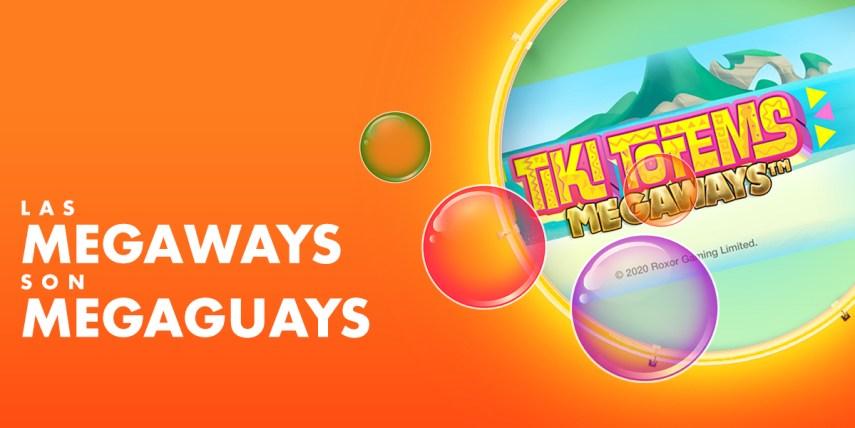 Tiki Totems Megaways es un Juego de Slots basado en Megways o Maneras de Ganar.