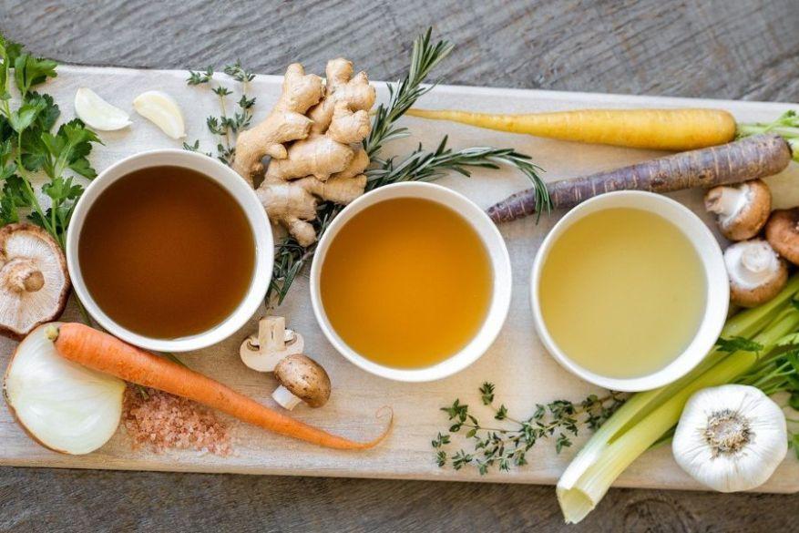 caldo beneficios alimentación cíclica