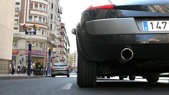 Prohibición de circulación de coches por Barcelona