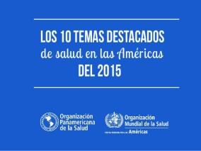 Salud en las Américas 2015