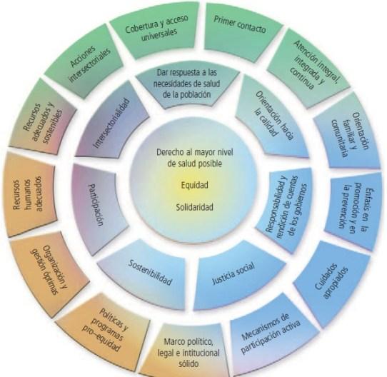 Servicios de salud al servicio de los seres humanos. Valores APS