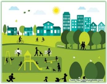 Vida urbana saludable