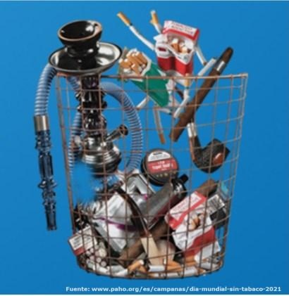 Día mundial sin tabaco 2021
