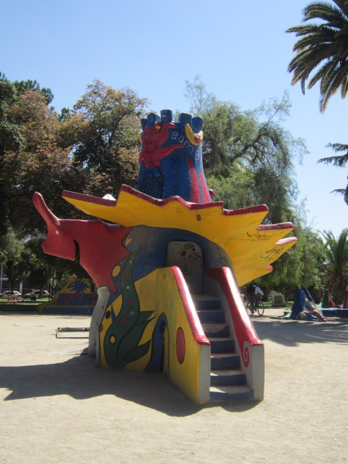 Resbalín-Castillo Juegos de Féderica Matta