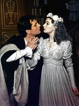 Julieta, en Romeo y Julieta (1940)