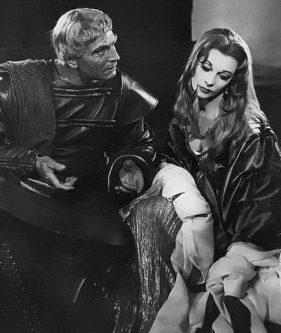 Lavinia, en Tito Andrónico (1957)